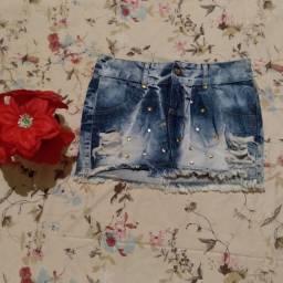 Vendo saia e calças jeans