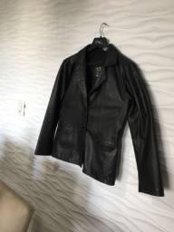 Jaqueta couro legítimo tamanho g