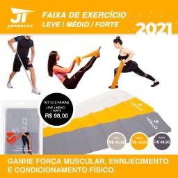 Faixa Elástica Vollo Para Treino em Casa - JT Esportes