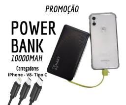 Power Bank - Carregador Portátil - Promoção