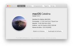 MacBook Pro 15?? 2012, i7, 16GB, SSD 750GB