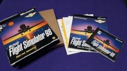 Título do anúncio: Jogo Microsoft Flight Simulator 98 Usado