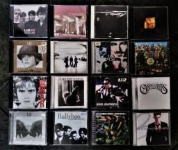 Lote de 57 CDs e 4 DVDs em excelente estado