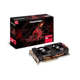 Placa de Vídeo PowerColor AMD Radeon RX 570, 4GB, GDDR5 - AXRX 570 4GBD5-DHDV3/OC