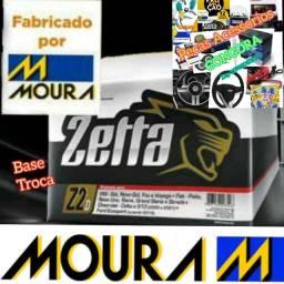 Título do anúncio: Bateria zetta fabricada pela moura 60ah