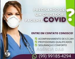 Acompanhante para pacientes de COVID
