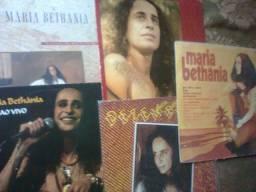 Coleção de discos Vinil - 160 peças