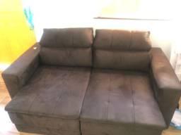 Sofá 7 dias de uso, retrátil e reclinável.