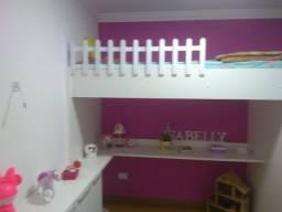Apartamento decorado e mobiliado