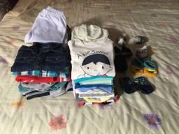 Vendo lote de roupas 42 peças