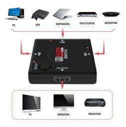 Switch Hub HDMI 1.4 3 portas