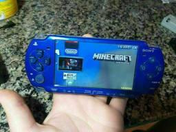 PSP Sony Blue 2000 TOP !mais 200 Jogos! Oferta!