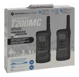 Radio Comunicador 32km Talkabout Walk Talk Motorola T200 - Loja Natan Abreu