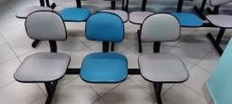 Cadeiras para recepção semi novas...