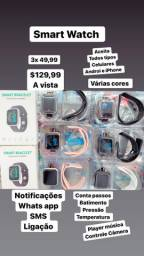 Smart Watch relógio digital Android e iPhone