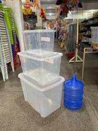 Caixa organizadora novo aparti de 38 reais a unidade 20 litros