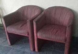 Poltronas e sofa cama estrutura boas
