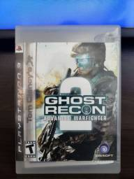 Jogo Ghost Recon 2( Advanced Warfighter ) original para Ps3