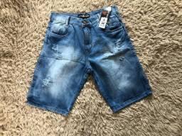 bermuda jeans no atacado