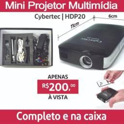 Mini Projetor Multimídia