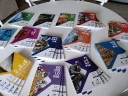 Livros Colégio Sagrada Família, sistema Poliedro, Primeiro Ano do Ensino Médio