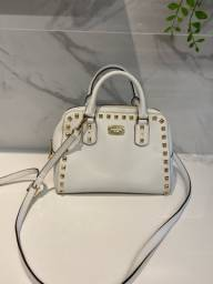 Bolsa Michael Kors original  branca off white
