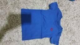 Camiseta Tigor Novinha 6 a 9 meses