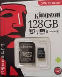 Cartão de memória 128gb e 64gb