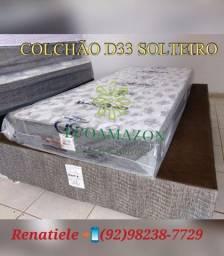 Colchão D33 Solteiro // entrega IMEDIATA