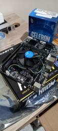 Kit 6 Geração G3900 1151 + 8gb RAM DDR4 2400