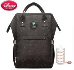 Mochila Maternidade Disney Mickey Original com aquecedor de mamadeira