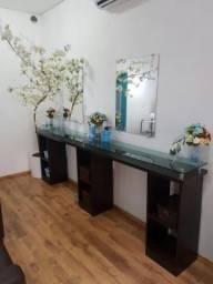 Móveis para salão de cabeleireiros - bancada nova ( zero )