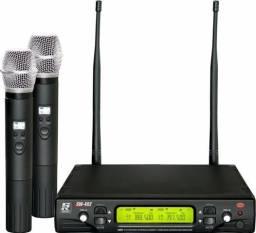 Microfone Sem Fio Duplo Staner, Modelo SW 482