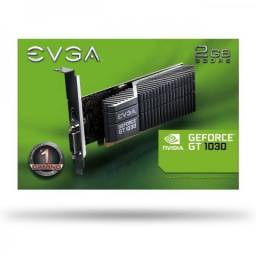 Placa de Vídeo Evga Geforce Gt 1030 2 GB gddr5 Nova Lacrada