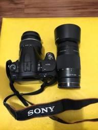 Câmera fotográfica Alpha 390 + Objetiva