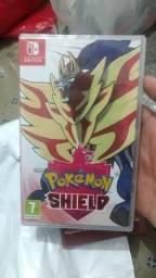 Pokémon shield novo lacrado