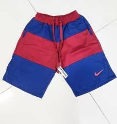 Bermudas Moletom Novas Nike