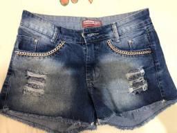 Short jeans novo núm.36