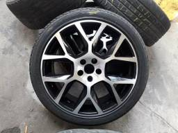 Rodas aro 18 com 4 pneus novos