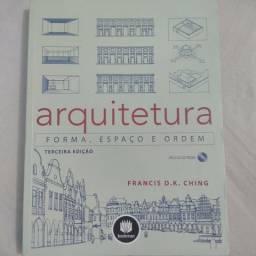 Livro Arquitetura, forma espaço e ordem