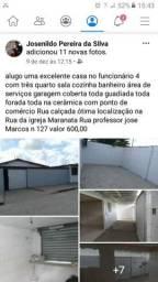 Casa pra alugar 600 reais