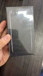 Iphone 7 32Gb A1778 Anatel Jet black - lacrado - 1 ano de garantia - Nfe