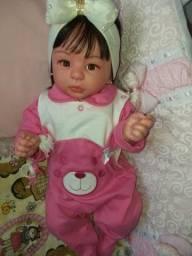 Bebê reborn original corpo inteiro silicone