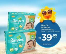 Fraldas Pampers
