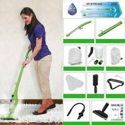 Vaporizador Mop Higienizador 5 Em 1- Novinho!! - Limpa Pisos,Carpetes,Vidros .