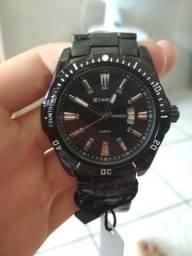 c80b5c88e06 Relógio curren preto
