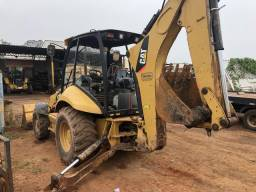 Retro escavadeira 416-E 4x4 Caterpillar