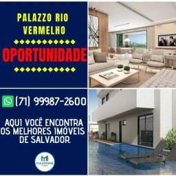 Palazzo Rio Vermelho, 1 Suíte com Varanda em 50m² - Por 314.000 |blue