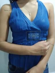 Blusa Chica Fulô Azul tam P