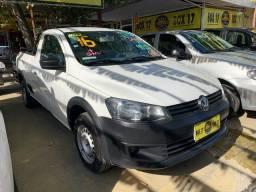 Volkswagen Saveiro 2016 + GNV (Único Dono, entrada